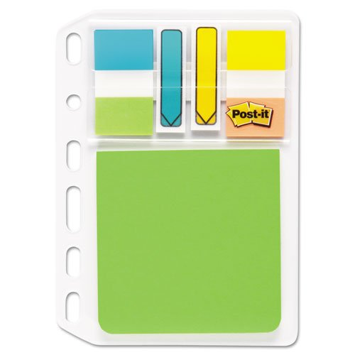 Post-It - Mobile Attach And Go Refillable Insert, 40 Ea Standard/Arrow Flags, 1 3 X 3 Pad Pm-Insert1 (Dmi Pk