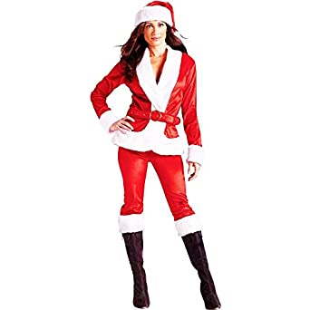 Ms. Santa Claus Pants Adult Costume