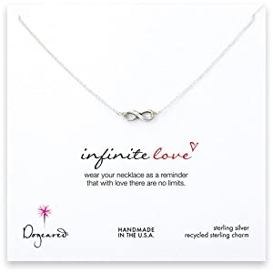 Dogeared Infinite Love Necklace, Sterling Silver