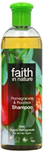 Faith In Nature Organic Pomegranate and Rooibos Shampoo 400ml