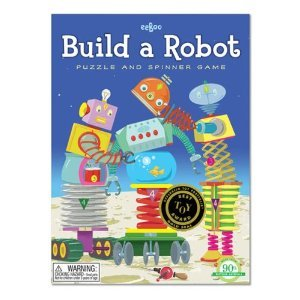 Eeboo Build a Robot Game