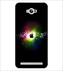 PrintDhaba Apples D-2373 Back Case Cover for ASUS ZENFONE MAX ZC550KL (Multi-Coloured)