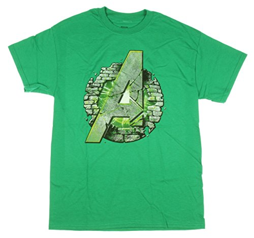 Avengers: Age Of Ultron Mens' Hulk Assemble T-shirt Picture