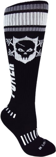 MOXY Socks Powerful Power Skull Knee-High Fitness Deadlift Socks