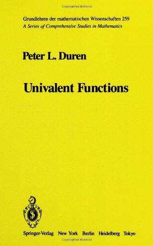 Univalent functions