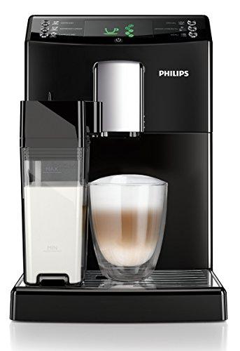 Philips HD8834/01 3100 Serie Kaffeevollautomat, integrierte Milchkaraffe, schwarz thumbnail