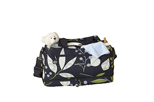 SootheTime Good To Go Tote Changing Bag and Leaves Toss Portable Cot - 1