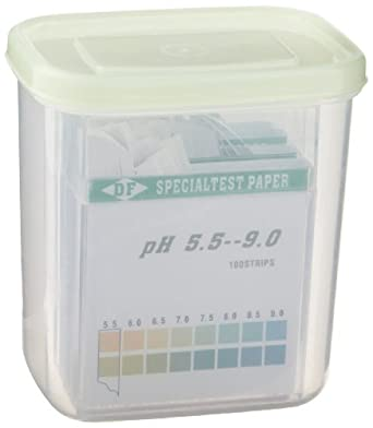3B Scientific U29201 pH Indicator Paper Set, 0-14 pH Range (4 Pack of 100 strips)