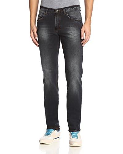 Versace Jeans Men's Distressed Straight Leg Jean