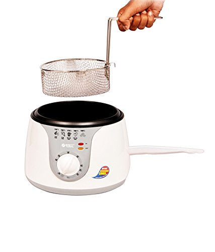 Buy Oobit DF-2000 Electric Deep Fryer, 2 Litre, White Online at Low Prices in India - Amazon.in