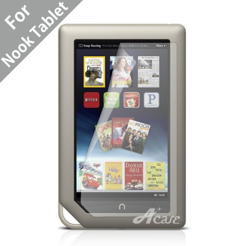 Acase(TM) AcaseView Screen Protector Film Anti-Fingerprint,