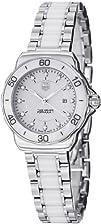 Tag Heuer Womens WAH1315.BA0868 Formula 1 White Dial Dress Watch