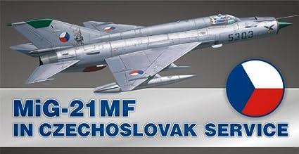 Mikoyan MiG-21MF in Czechoslovak service