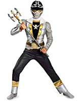 Disguise Saban Super MegaForce Power Rangers Classic Muscle Costume, Small/4-6