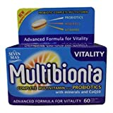 Multibion Probiotic Multivitamins 60 Tablets - CLF-MUL-8565