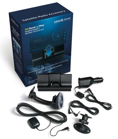 XM XADV2 XM Dock and Play PowerConnect Vehicle Kit (Discontinued by Manufacturer)