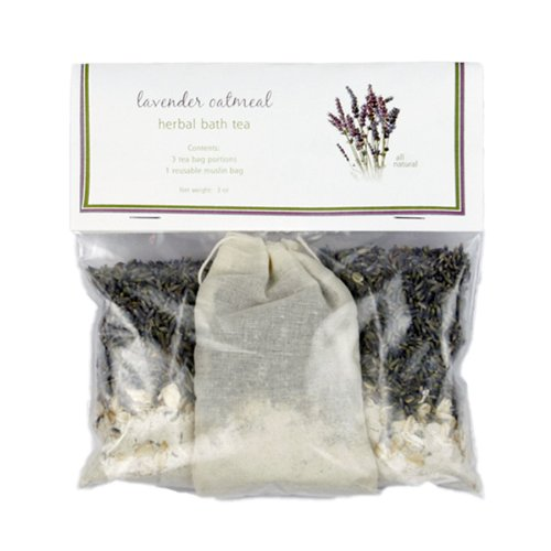Relaxing Lavender Oatmeal Bath Tea