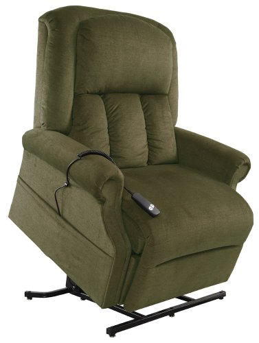 Mega Motion Easy Comfort Superior - Heavy Duty Lift Chair - Forest