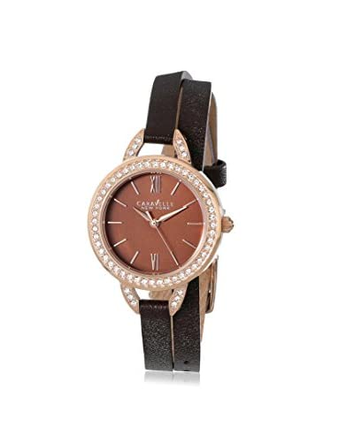 Caravelle by Bulova Women's 44L130 Brown Stainless Steel Watch