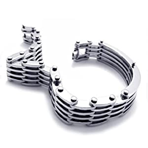 Titanium Steel Jewelry Men's Bracelet Fashionable Stylish