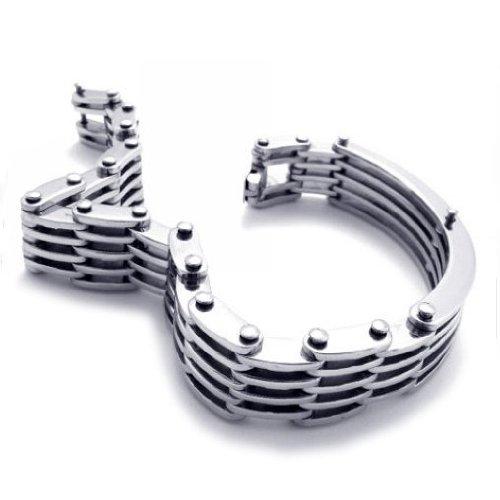 CET Domain SZ14-75975 Titanium Steel Jewelry Mens Bracelet Fashionable Stylish