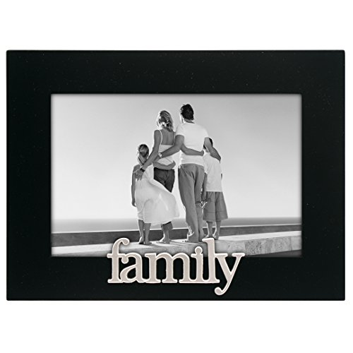 Malden International Designs Family Expressions Picture Frame, 4x6, Black (Family Pictures compare prices)