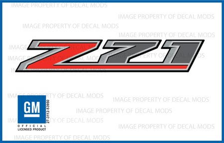 Chevy Silverado Z71 Truck Stickers Decals *New* - F (2014) Bedside (Set Of 2)