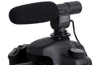 Microphone stéréo Pro DV SG-108 SG108 pour caméscope,compatible avec les caméscopes Canon 600D micro canon 550D,5D,Mark IV,Mark II,Nikon D5100 DSLR,D300s, D3s etc