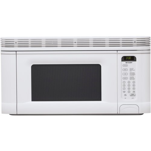 Why Should You Buy Sharp R-1406 950-Watt 1-2/5-Cubic-Foot Over-the-Range Microwave, White