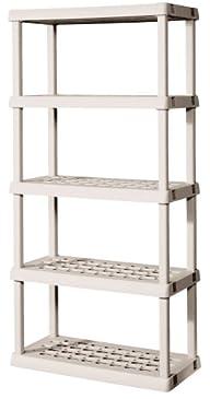 Sterilite 01558501 5-Shelf Unit with…