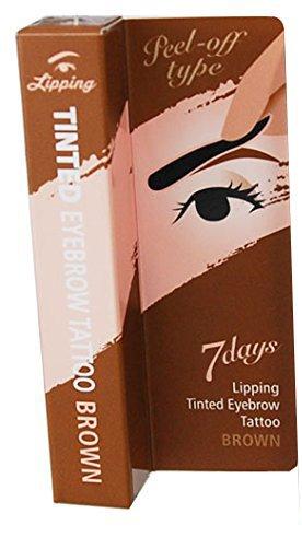Lipping アイブロウ ティント タトゥーパック 8g ブラウン