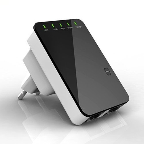 WLAN 300Mbit Repeater mit WPS Button /