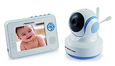 foscam fbm3502 digital video baby monitor plus fbcam3502 add on camera auto motion tracking. Black Bedroom Furniture Sets. Home Design Ideas