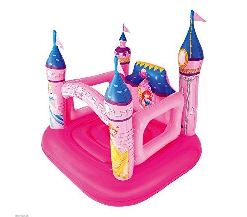 91050 Castello principesse Disney gonfiabile Bestway 157x147x163 cm giochi bimbe. MWS