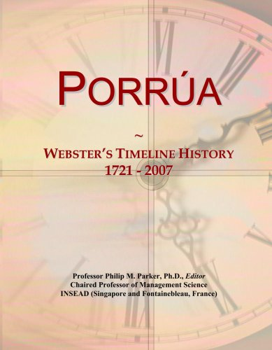 porra-websters-timeline-history-1721-2007