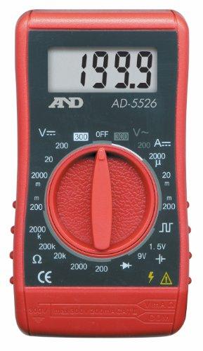 A&D デジタルマルチメーター AD-5526