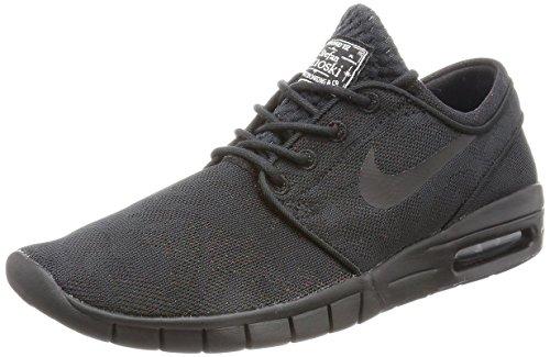 Nike Men's Stefan Janoski Max PRM Skate Shoe Black/Black Photo/Blue White 9 D(M) US (Stefan Janoski Nike Shoes compare prices)