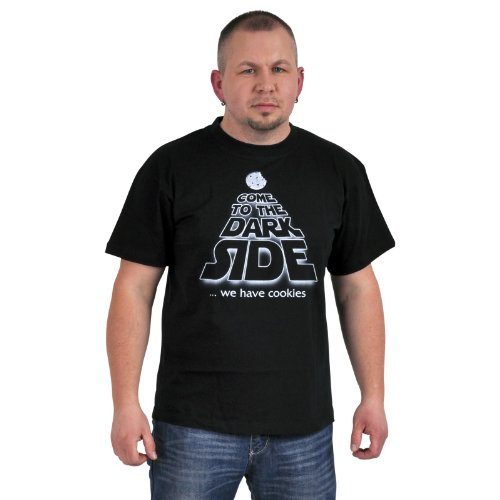 Star Wars T shirt - Come To the Dark Side We Have Cookies - T shirt dei Sith - M
