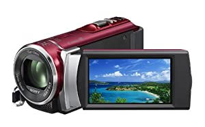 Sony HDR-CX210 High Definition Handycam 5.3 MP Camcorder with 25x Optical Zoom (Red) (2012 Model)