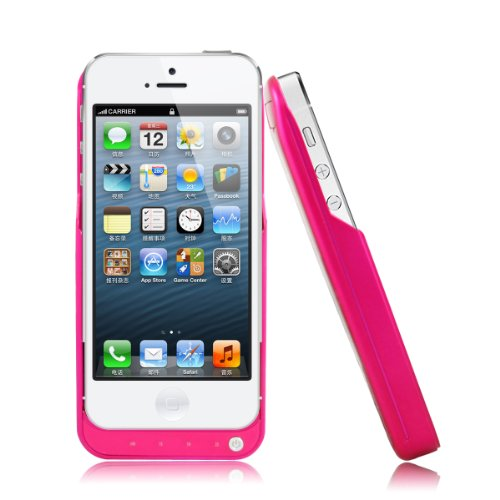 Bao Xin Extended Battery Pack For Iphone 5 5S Share External Protect And Extra Power 2200Mah (Rose)