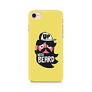 Generic Grow-with-Beard Premium Printed Mobile Back Case Cover For Apple iPhone 7