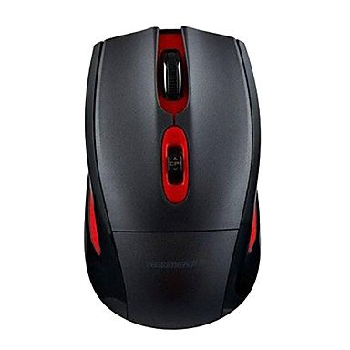 Limme Newmen Ms-255Ir Mouse 800Dpi Wireless 2.4G , Black-Red