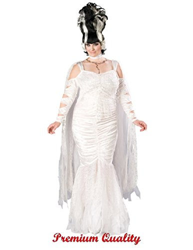 In Character Costumes Women's Bride Of Frankenstein Monster Elite Adult Costume