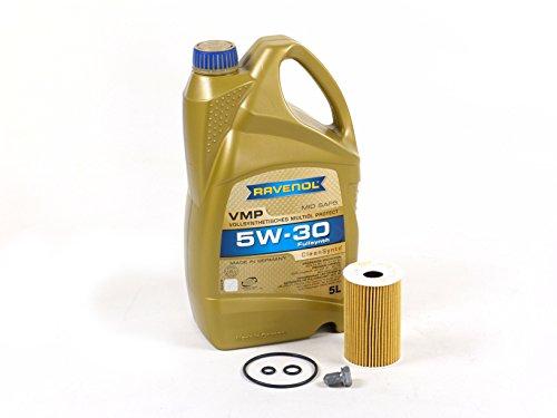 BLAU J1A5110 VW Passat Motor Oil Change Kit - 2012-14 w/ 4 Cylinder 2.0L TDI Diesel Engine