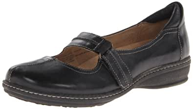 Naturalizer Women's Black Leather Mosa 9 B(N) US