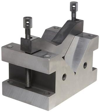 Starrett 578 Hardened Steel V-Block And Clamp For Larger Capacity Work