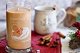 Diamond Gingerbread Latte Scent Ring Jar Candle
