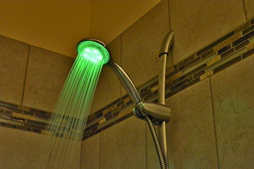 RGB LED Light Up Shower ...