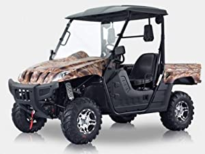 BMS Ranch Pony 500 YELLOW CAMO Gas 4 Stroke 493cc 4 x 4 UTV