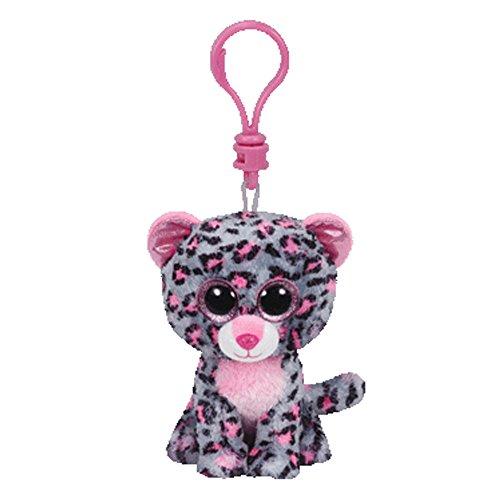 Ty Beanie Boos Tasha - Leopard Clip - 1